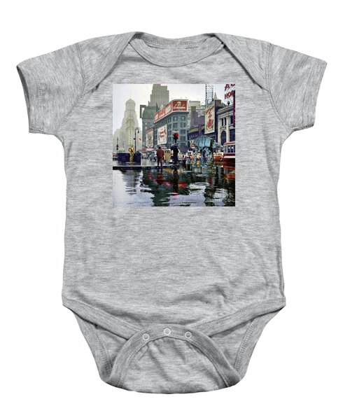Times Square 1943 Reloaded Baby Onesie