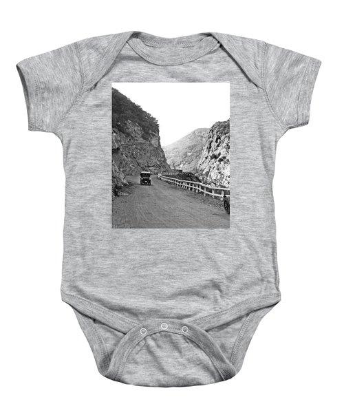 Topanga Canyon Road In La Baby Onesie