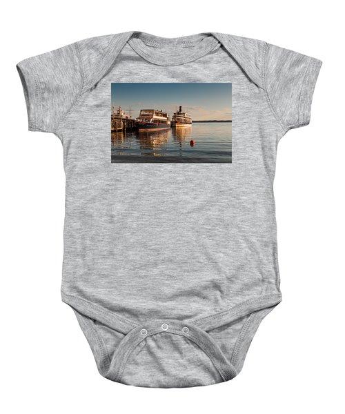 Tour Boats Lake Geneva Wi Baby Onesie