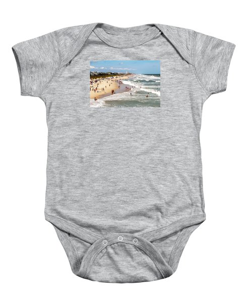 Tourist At Kure Beach Baby Onesie