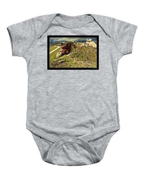 Tow Truck No Where To Go Baby Onesie