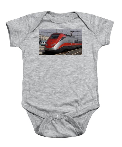 Train Out Of Rome Baby Onesie