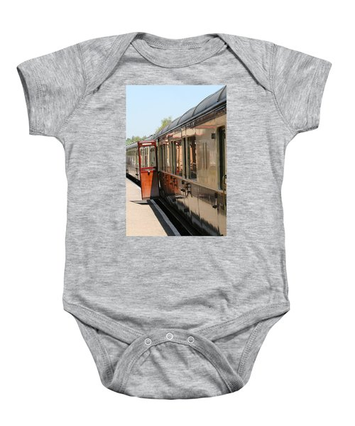 Train Transport Baby Onesie