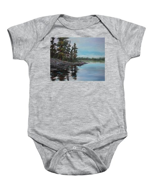 Tranquil Bay Baby Onesie