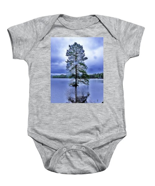 The Healing Tree - Trap Pond State Park Delaware Baby Onesie