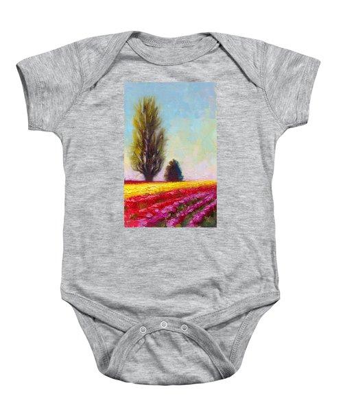 Tulip Sentinels Baby Onesie