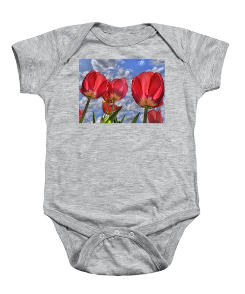 Tulips Are Better Than One Baby Onesie