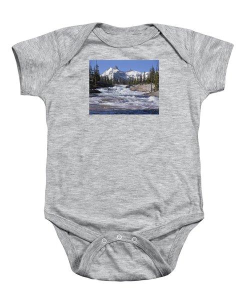 6m6539-tuolumne River  Baby Onesie