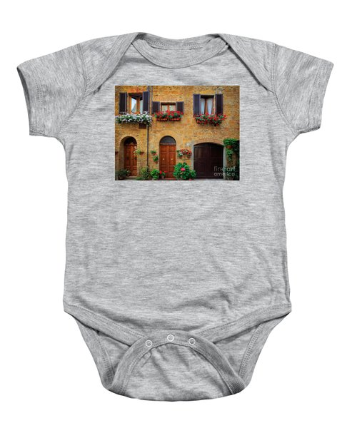 Tuscan Homes Baby Onesie