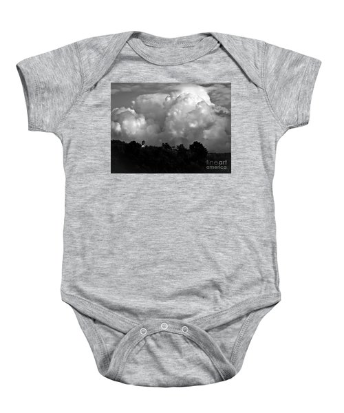 Tuscan Storm Rising From The Valley Baby Onesie
