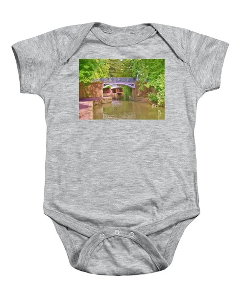 Under The Bridges Baby Onesie