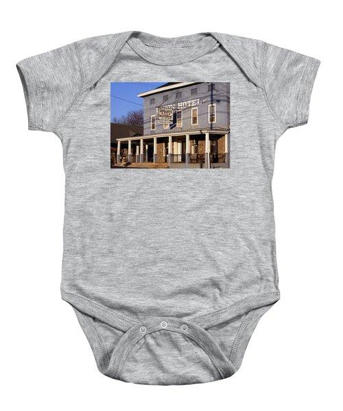 Union Hotel Baby Onesie by Skip Willits