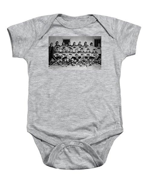 University Of Michigan Hockey Team 1947 Baby Onesie