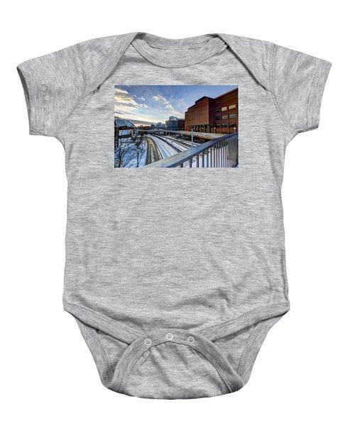 University Of Minnesota Baby Onesie by Amanda Stadther