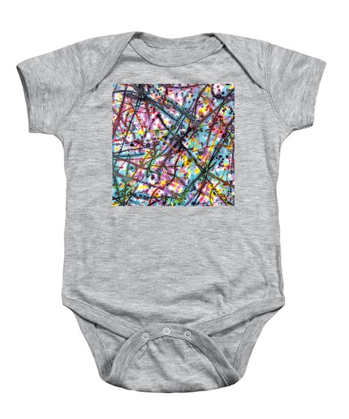 The Mural Goes On And On Baby Onesie