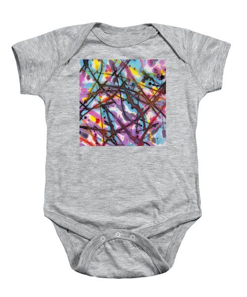 Popped Warhol Baby Onesie
