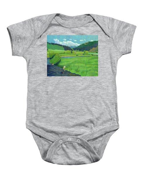 Upper Bear Creek Colorado Baby Onesie
