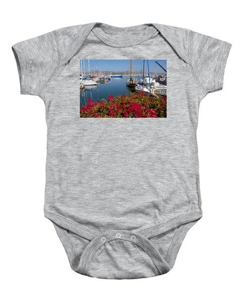 Ventura Harbor Baby Onesie
