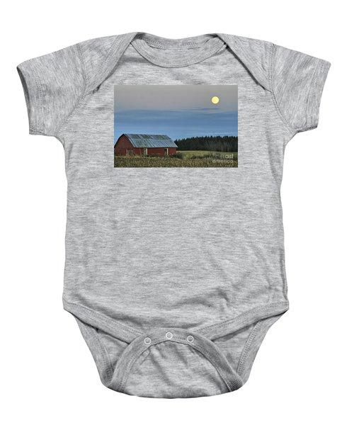 Vermont Full Moon Baby Onesie