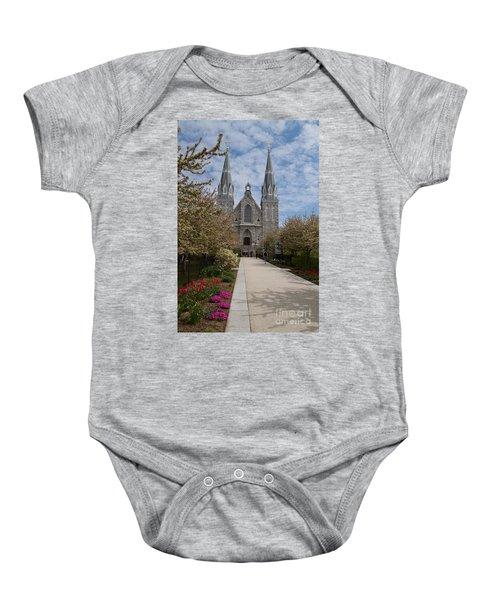 Villanova University Main Chapel  Baby Onesie