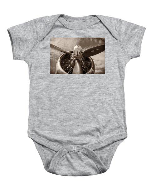 Vintage B-17 Baby Onesie
