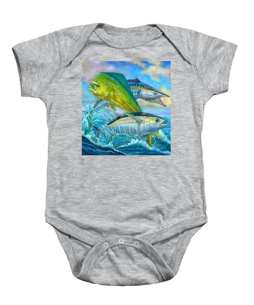 Wahoo Mahi Mahi And Tuna Baby Onesie