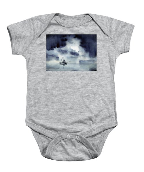 Waiting Out The Squall Baby Onesie
