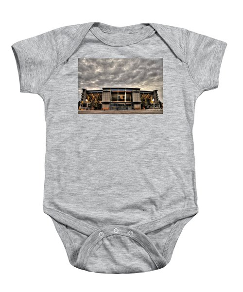 War Memorial Stadium Baby Onesie