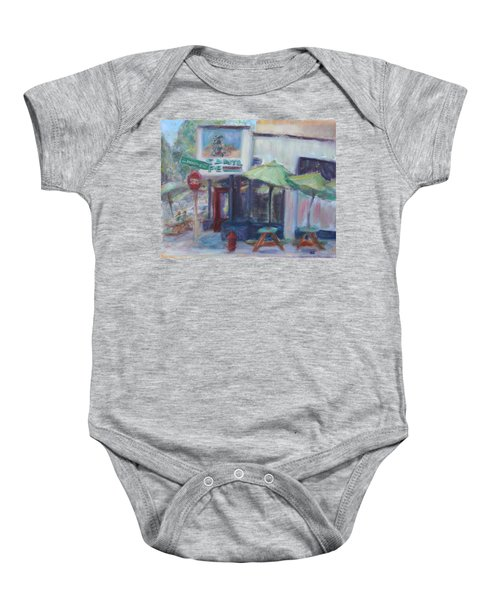 Warm Afternoon In The City  Baby Onesie