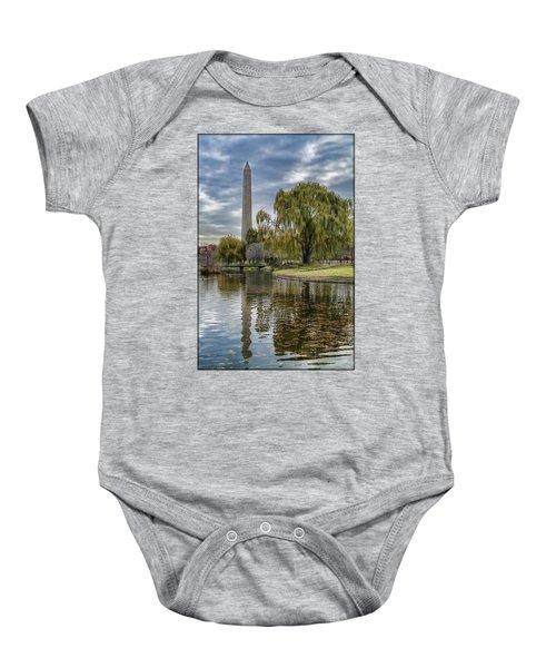 Washington Reflection Baby Onesie