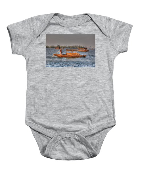 Water Taxi In China Baby Onesie