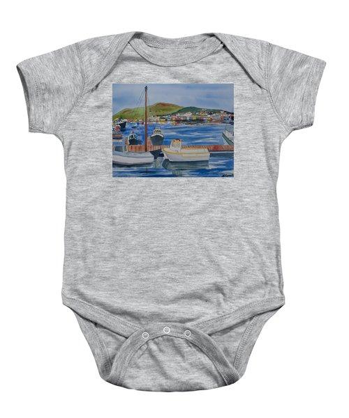 Watercolor - Dingle Ireland Baby Onesie