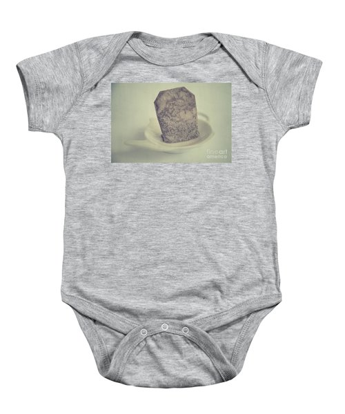 Wet Tea Bag Baby Onesie