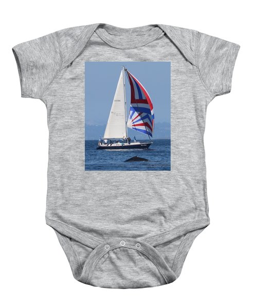 Whale Watching 1 Baby Onesie