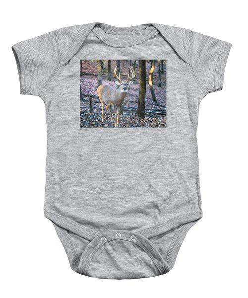 Whitetail Buck Baby Onesie
