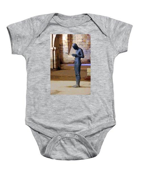 Winchester Crypt Baby Onesie