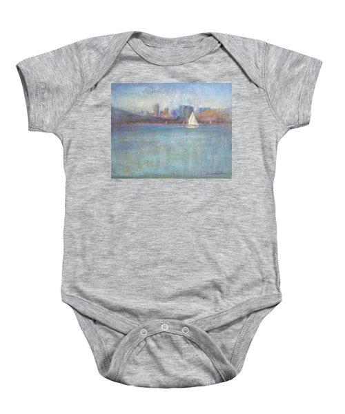 Wind In My Sails Baby Onesie