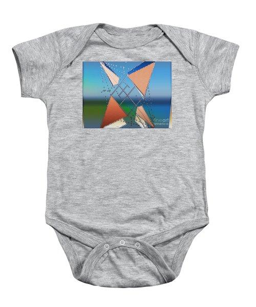 Wind Milling Baby Onesie