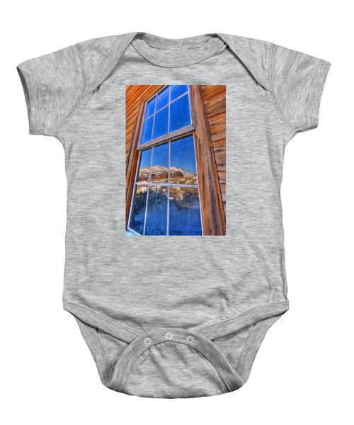 Window To Bodie Baby Onesie