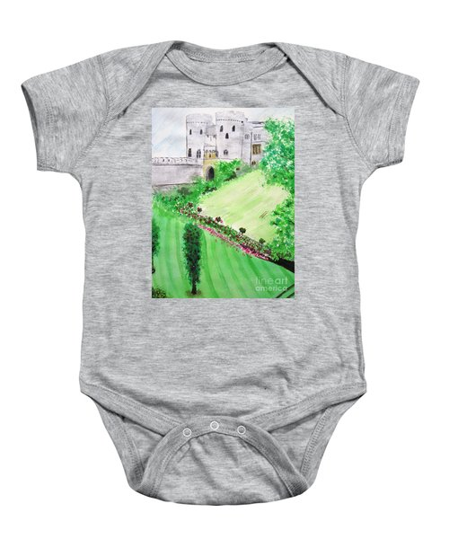 Windsor Castle Baby Onesie