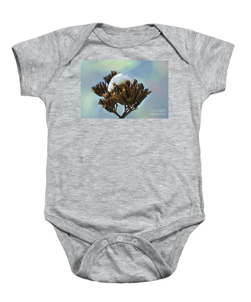 Winter Agave Bloom Baby Onesie