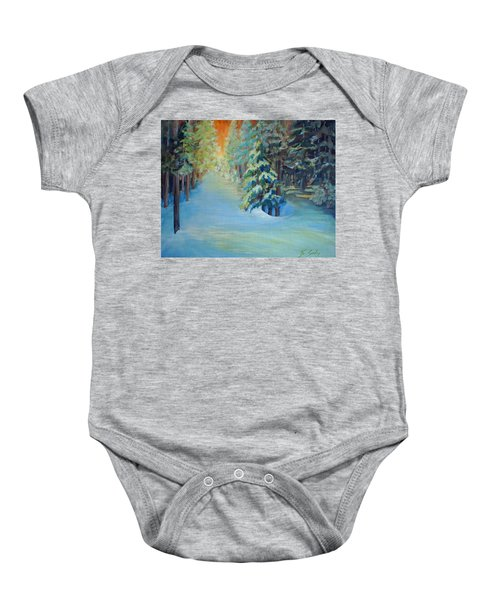 A Road Less Travelled Baby Onesie