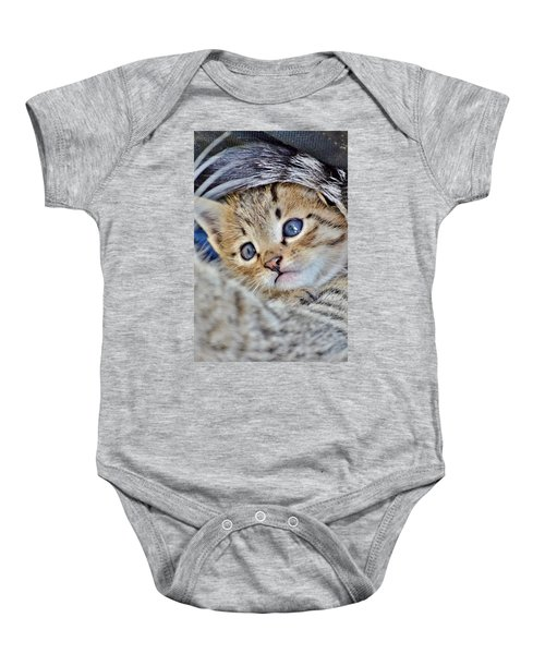 Wrapped In Mother's Love Baby Onesie