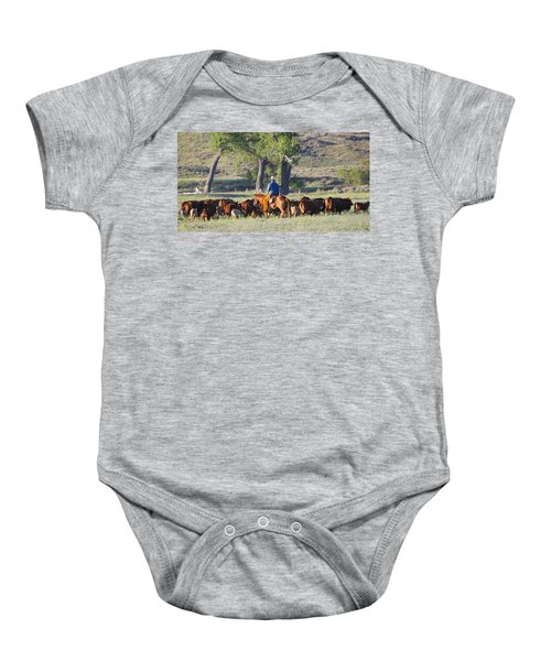 Wyoming Country Baby Onesie