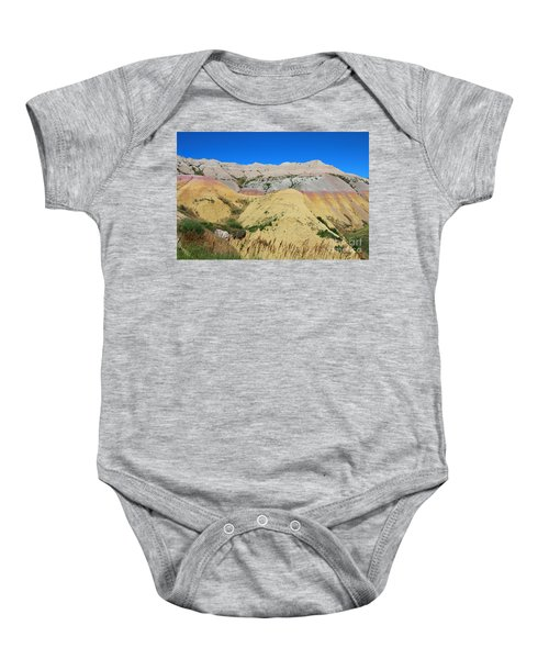 Yellow Mounds Badlands National Park Baby Onesie