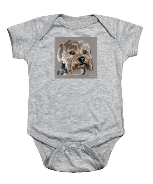 Yorkshire Terrier- Drawing Baby Onesie