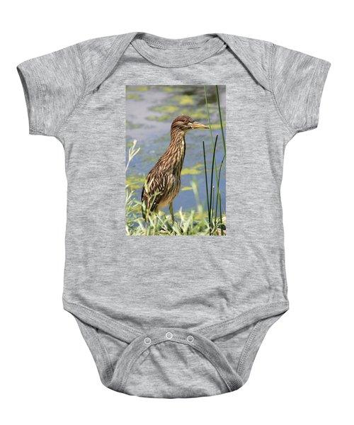 Young Heron Baby Onesie