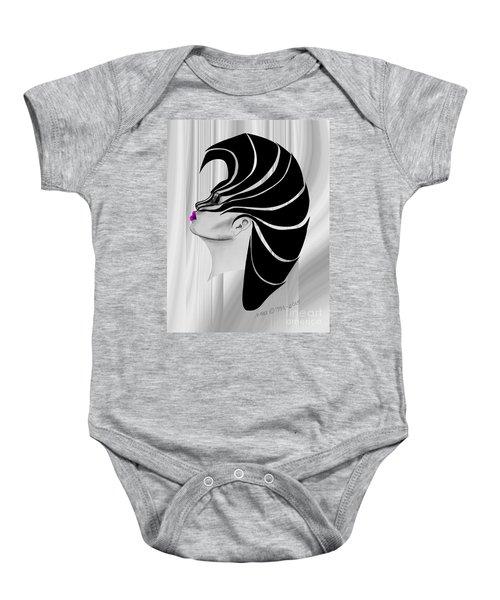 Zebra Punk Baby Onesie