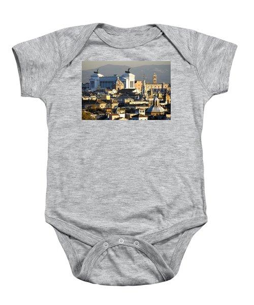 Rome's Rooftops Baby Onesie