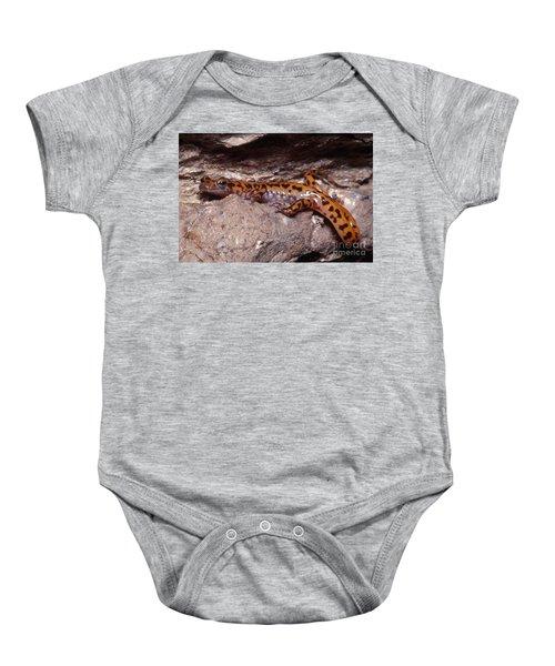 Cave Salamander Baby Onesie